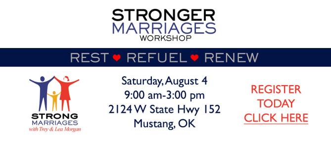 Stronger Marriages Workshop